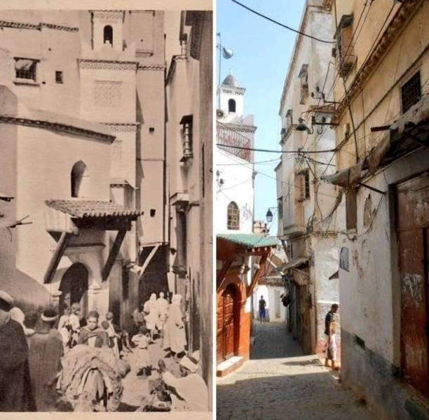 Впечатляющие сравнения мест тогда и сейчас (20 фото)