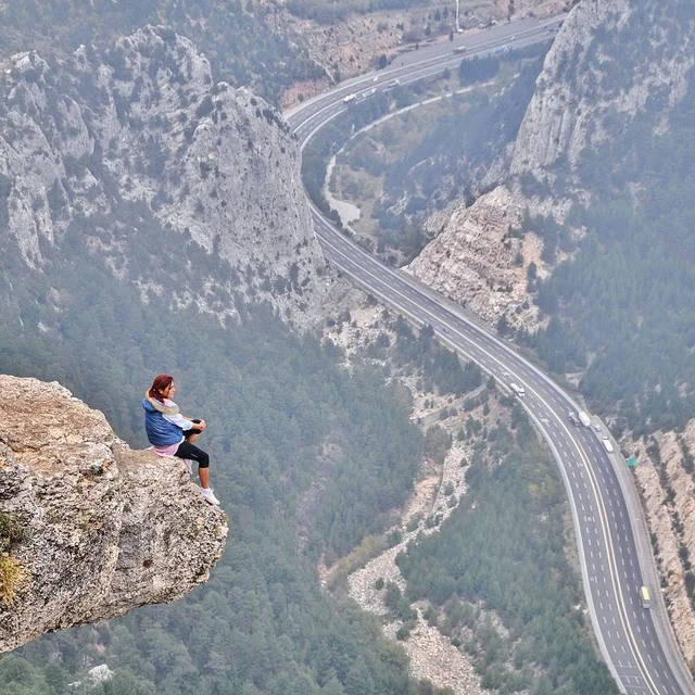 Фотографии, сделанные на экстремальной высоте (13 фото)