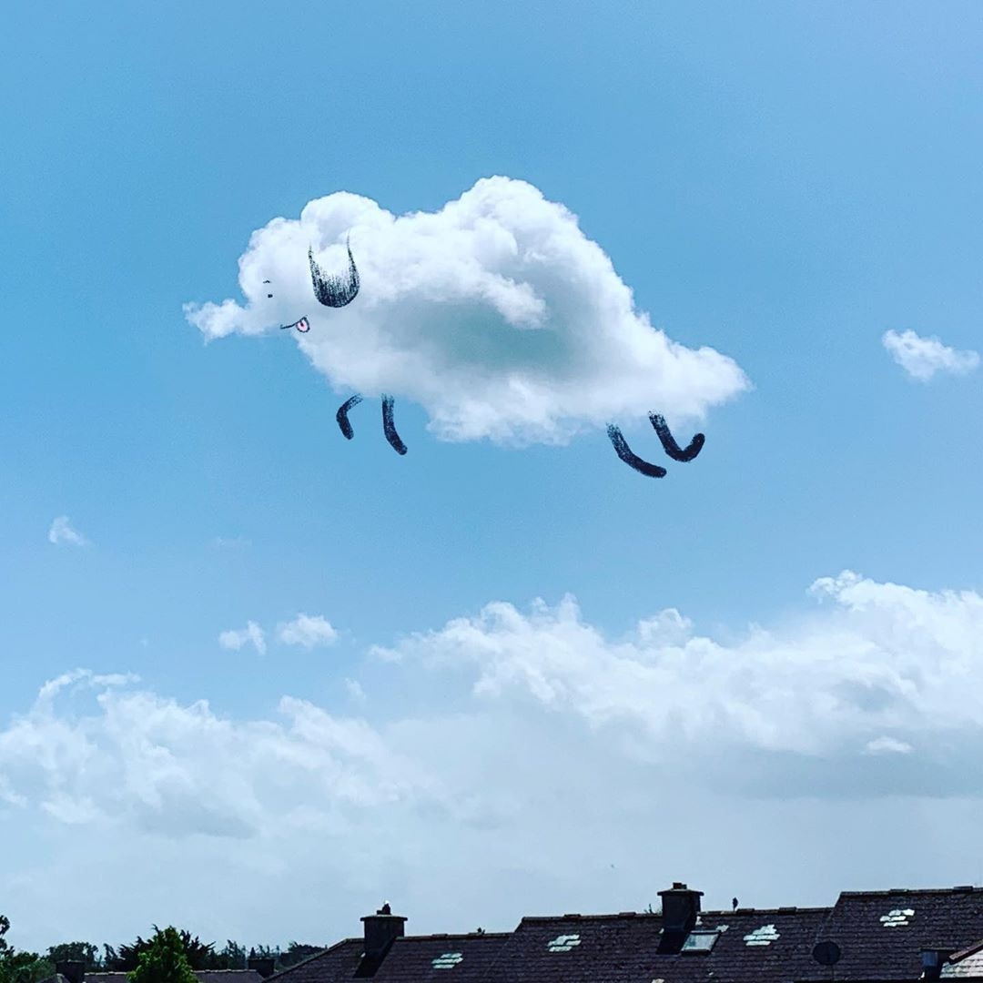 собрали прикольные облака фото материалы сайта представлены