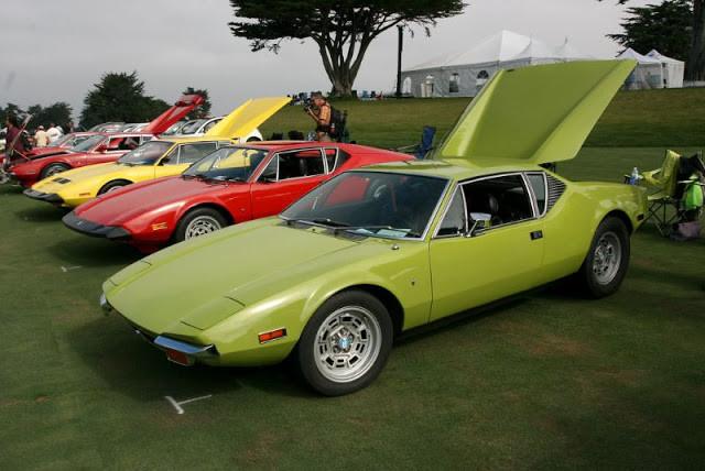 Фотографии 1971 DeTomaso Pantera для настоящих ценителей ретромобилей (15 фото)