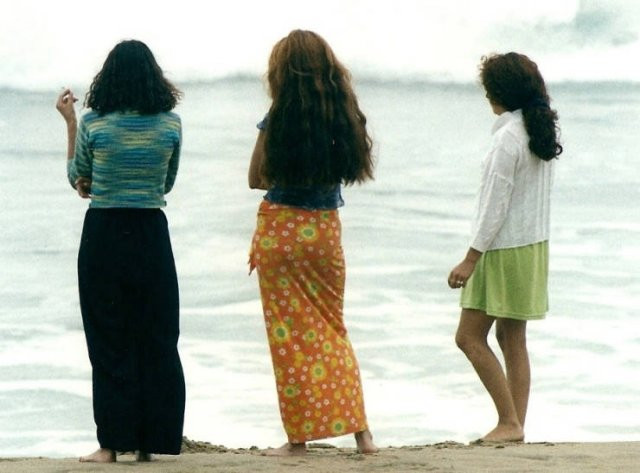 Пляжная жизнь 1980-х годов (40 фото)