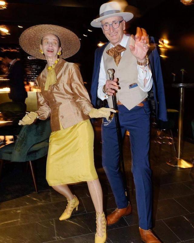 Эта пожилая немецкая пара — икона стиля