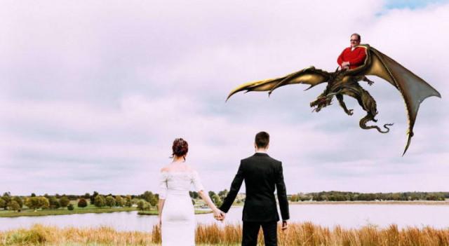 Свадебные фотографии, которые вызовут улыбку