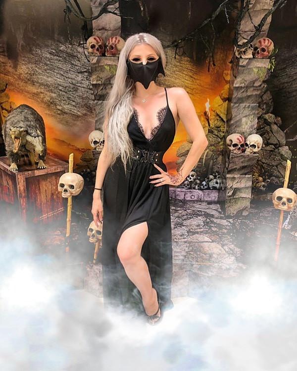 Идеальная маска для хэллоуинской вечеринки (4 фото)