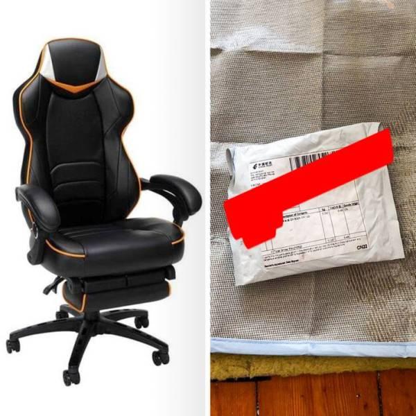 15 фотографий, наглядно показывающих, почему мебель не нужно покупать онлайн