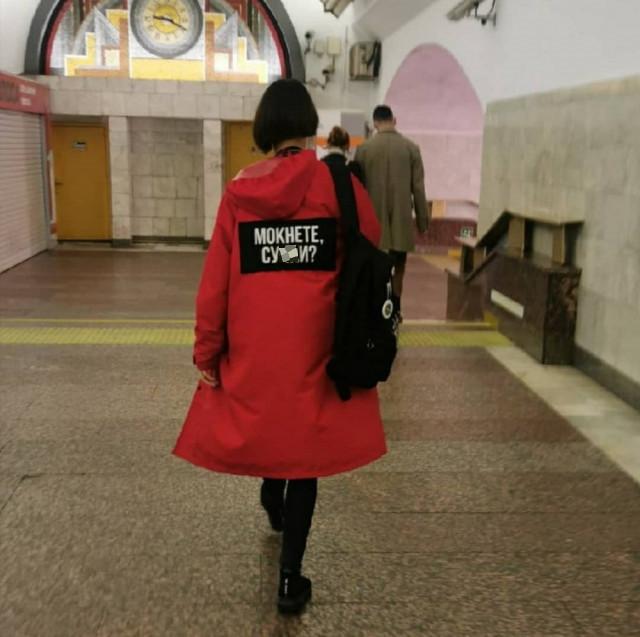 Кого ещё можно встретить в метро (26 фото)
