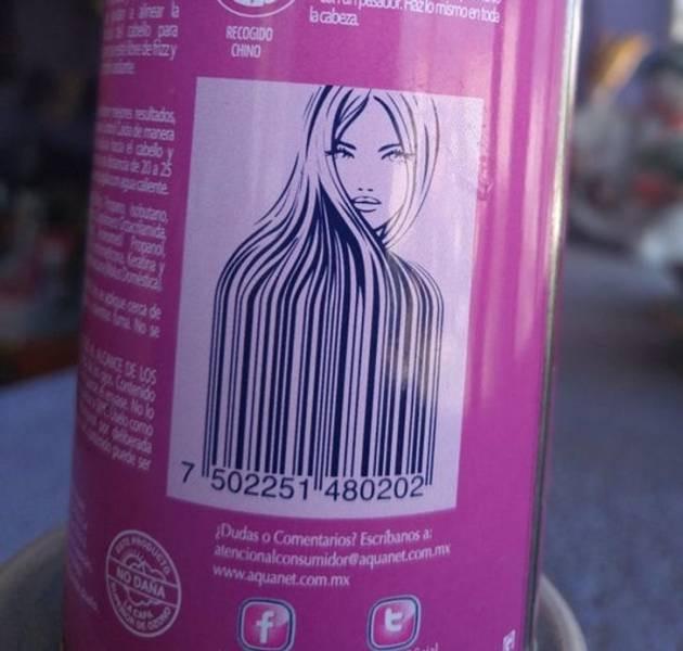 Необычные и прикольные штрихкоды, которые стали главной изюминкой упаковки. ФОТО
