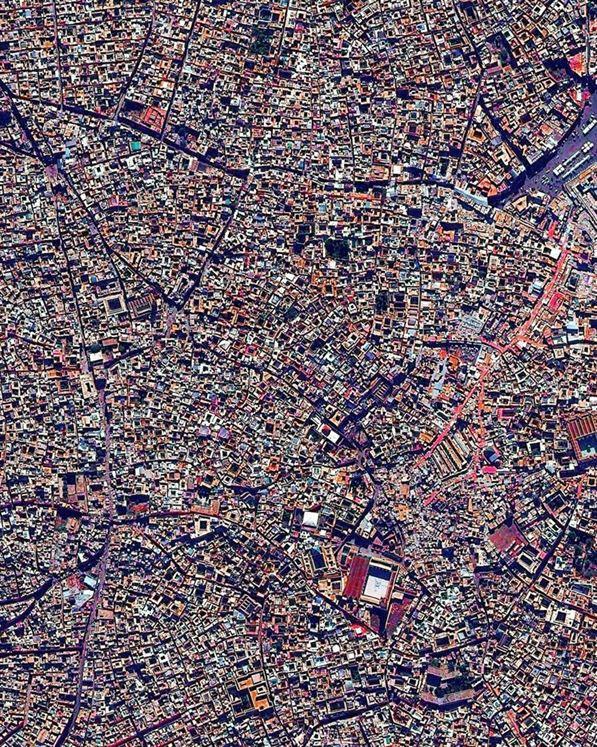Объекты Всемирного наследия ЮНЕСКО с высоты птичьего полёта (15 фото)
