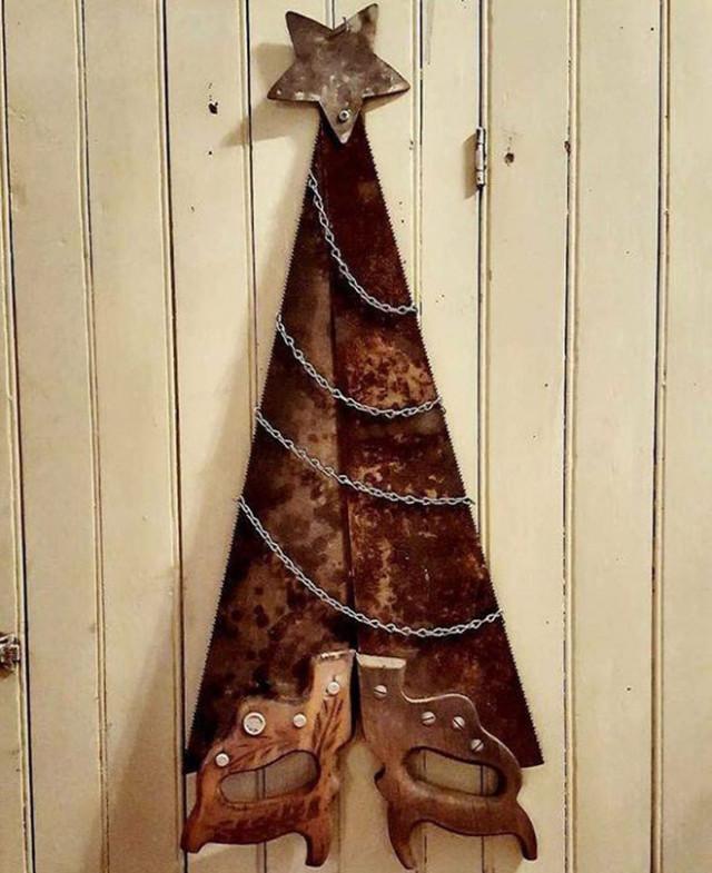 Прикольные и креативные новогодние ёлки. ФОТО