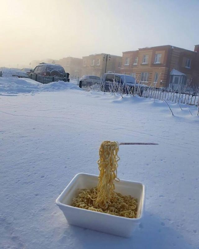 Зима в России — не для слабаков!
