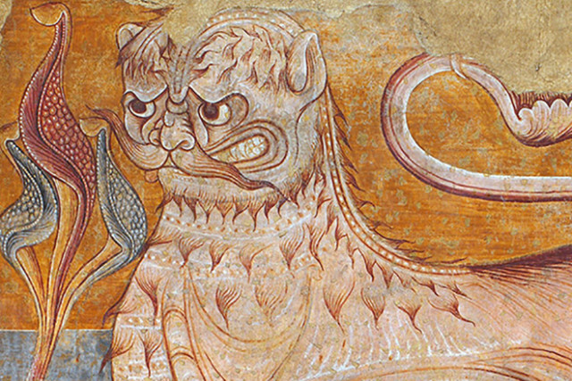 Судя по тому, как художники Средневековья рисовали львов, они никогда не видели этих животных