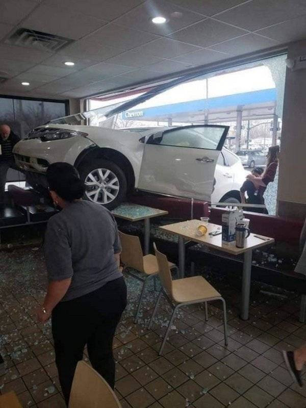У автомобилей тоже бывают неудачные дни