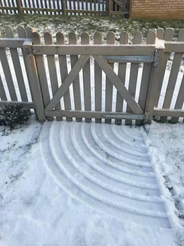 Зимние художества природы