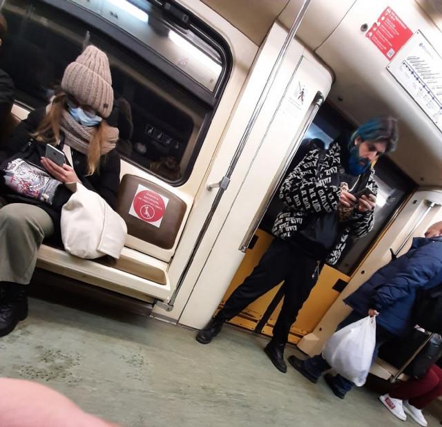 Неожиданные и странные пассажиры метро