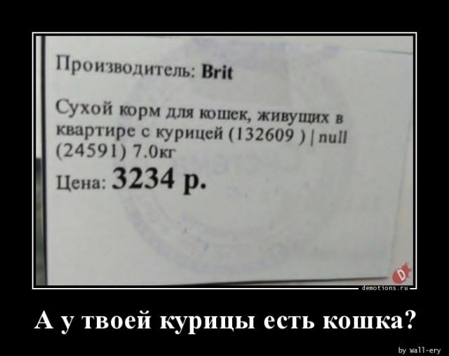 Очередная подборка новых демотиваторов - 3255