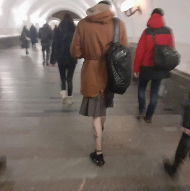 Кого ещё можно встретить в метро