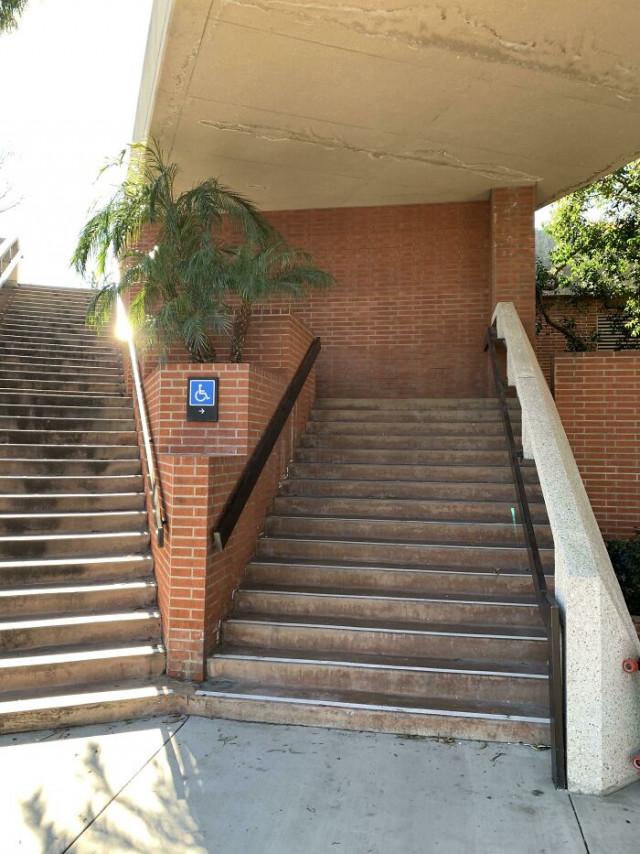 25 лестниц, у создателей которых голова и руки растут из какого-то другого места