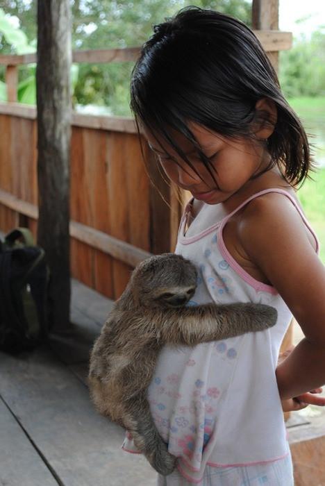 Фотографии с животными, которые вызовут вашу улыбку