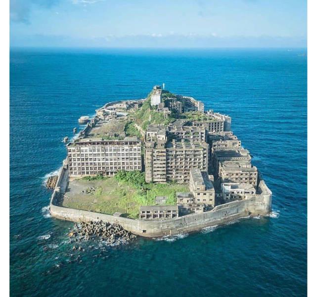 Заброшенный остров Хасима