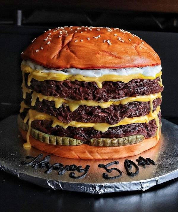 Когда к приготовлению торта подходишь как художник