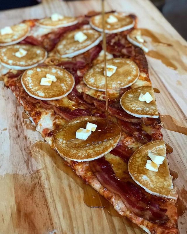 Огромные и причудливые пиццы из пекарни Ламанны