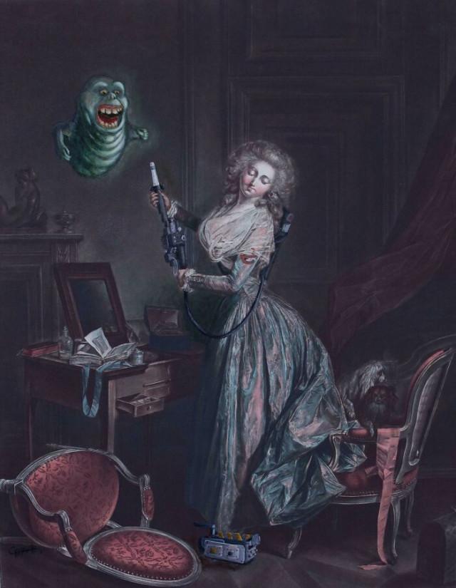 27 старых картин, выглядящих по-новому после художественного «апгрейда»