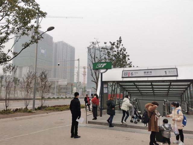 Необычная станция метро в Китае