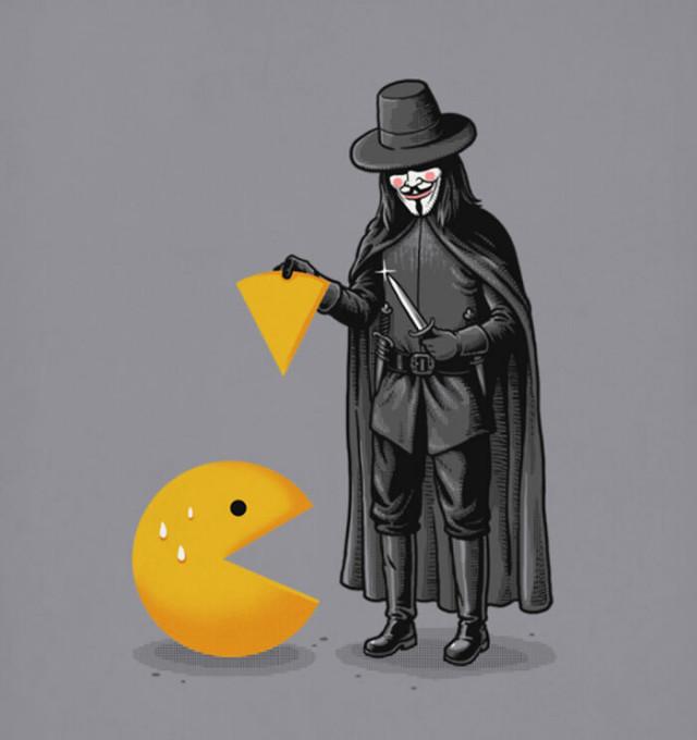 Саркастические иллюстрации с изрядной толикой чёрного юмора