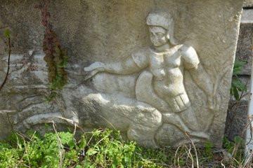 Удивительные фотографии древнегреческого стадиона до и после археологических раскопок (10 фото)