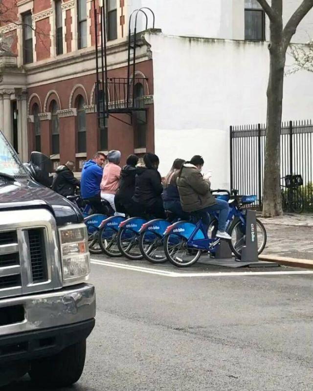 Обычная жизнь ньюйоркцев
