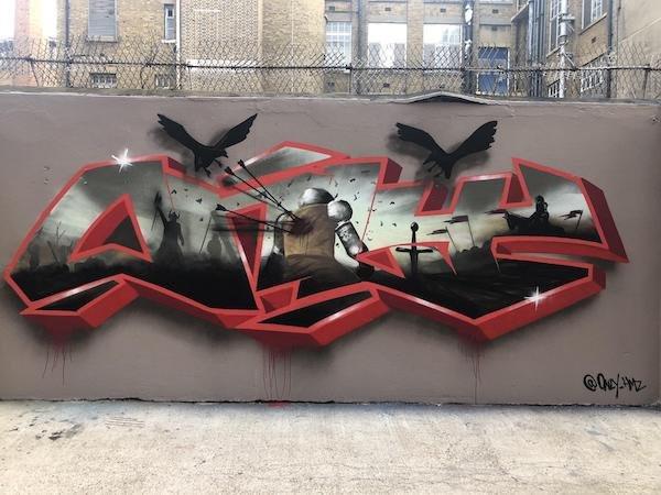 Впечатляющий стрит-арт