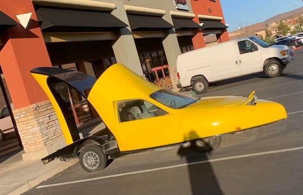 Необычный транспорт, который можно встретить на дорогах (34 фото)
