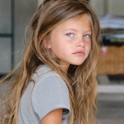 Как сейчас выглядит Тилан Блондо, самая красивая девочка в мире и одна из самых юных моделей, попавших на страницы Vogue