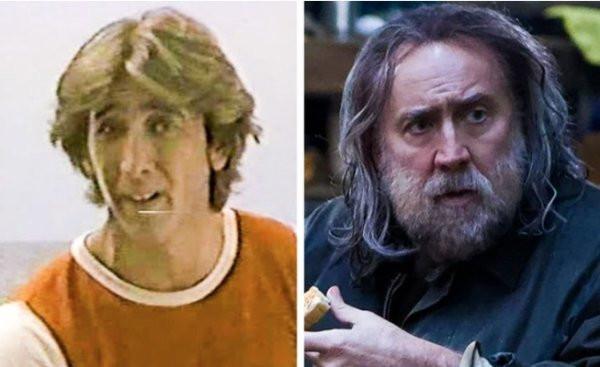 Голливудские актёры в своих первых и последних ролях (19 фото)
