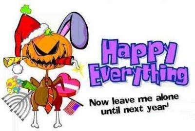 На весь год