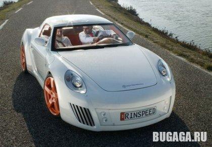 Rinspeed zaZen - Porsche Carrera S с голографической крышей