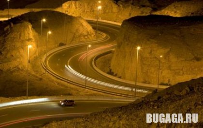Jebel Hafeet - самая большая дорога в мире