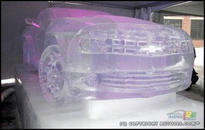 Ледяной Camaro