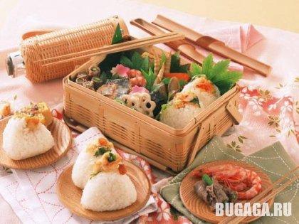 Немного японского и просто вкусности