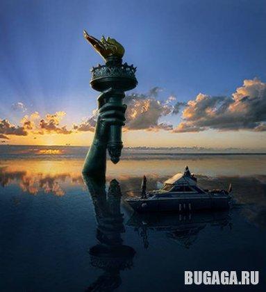 Статуя свободы как надо