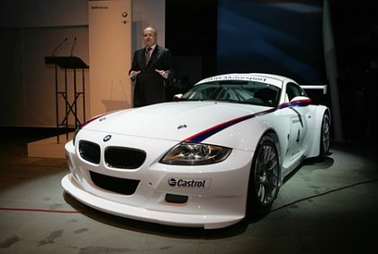 BMW Z4 M Coupe racing version