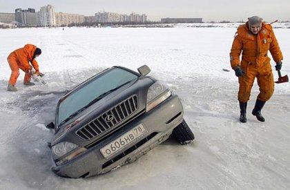 Игорь Лифанов попал под лёд