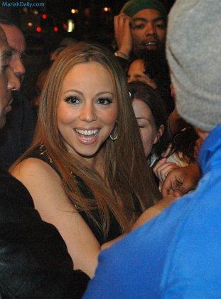 "Съёмки нового клипа Mariah Carey ""Say something"""