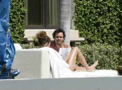 J Lo и Marc Anthony отдыхают