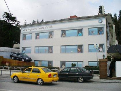 Креативная реклама Volkswagen Jetta