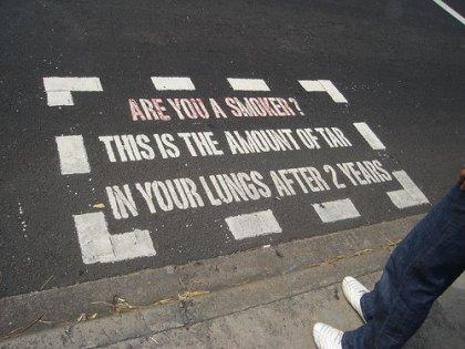 Креативная реклама: Британская борьба с курением