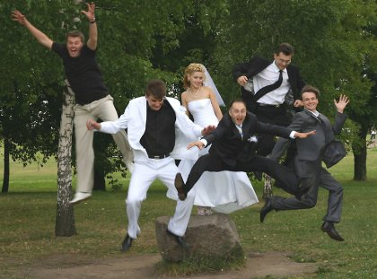 вот такая свадьба =)