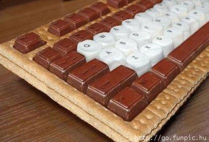 Сладкая клавиатура
