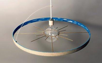 Офигенная люстра Sun & Earth Calendar Lamp