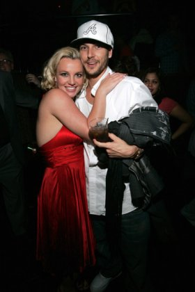 Britney Spears с мужем.
